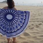 Blue Beach Blanket 3