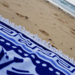 Blue mandala Soft beach Blanket