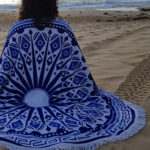 Blue Beach Blanket 5