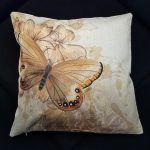 Living room pillow case butterfly series (2)