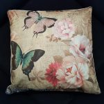 Living room pillow case butterfly series (3)