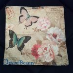 Living room pillow case butterfly series (6)