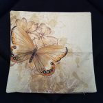 Living room pillow case butterfly series (7)