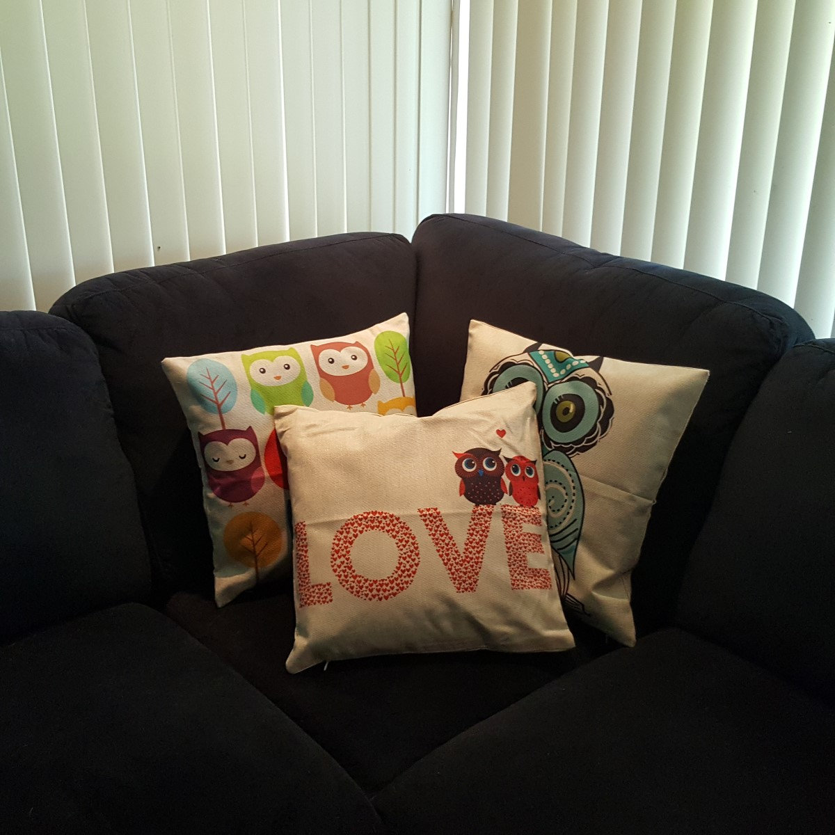 Cushion Pillow Design Owl Series