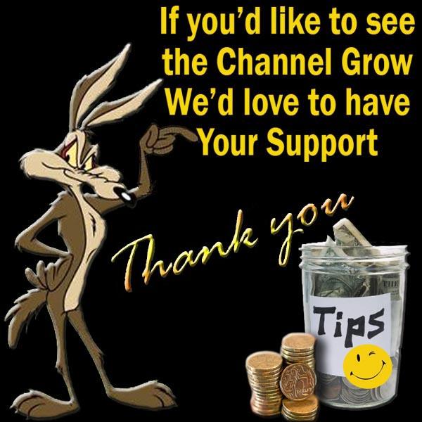 Tip Jar Support Jaz